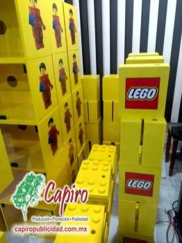 Mostrador MDF Proyecto Blin Builder LEGO 6