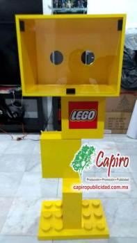 Mostrador MDF Proyecto Blin Builder LEGO 8