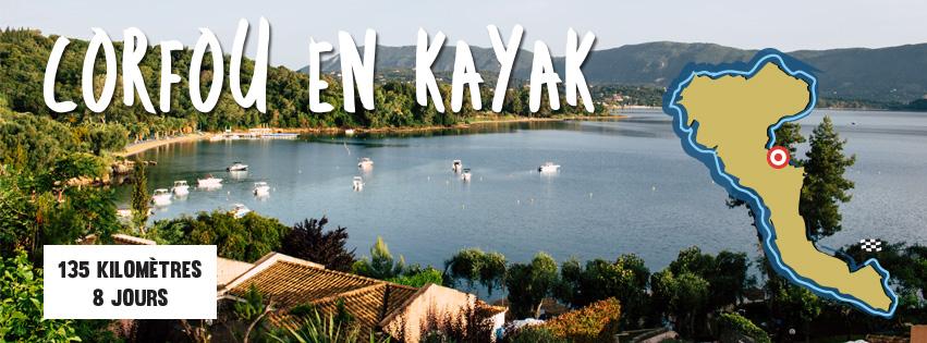 Corfou en Kayak