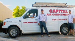 Capital Air Conditioning professionals experienced