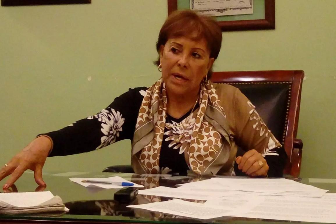 Alejandra Barrios salió de la cárcel