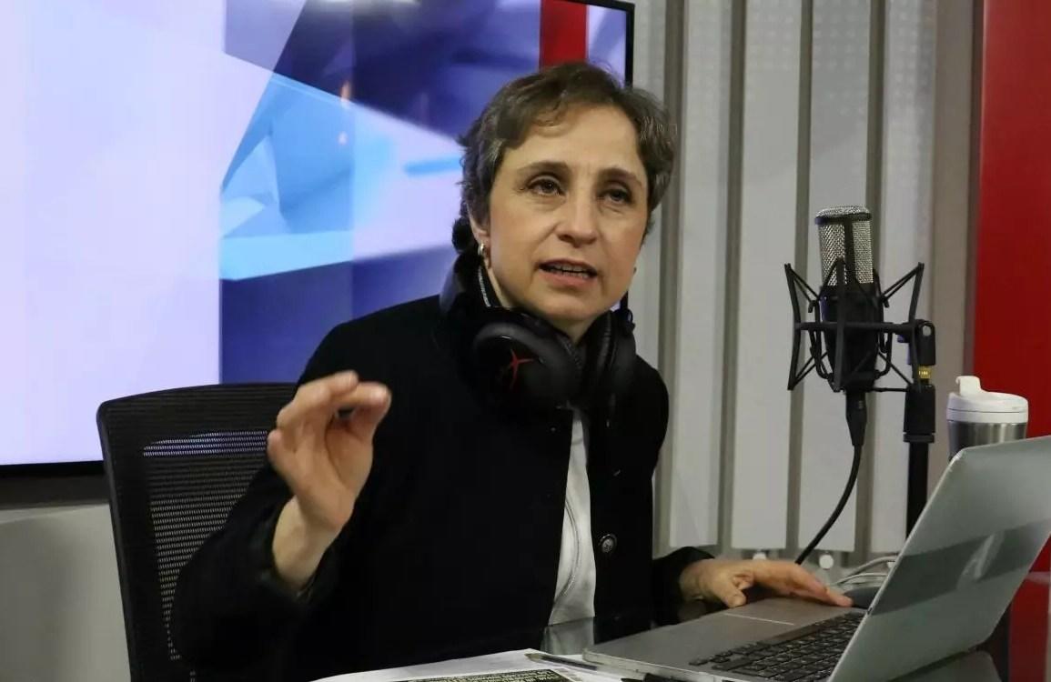 Aristegui contra la sección de Fake News en las mañaneras