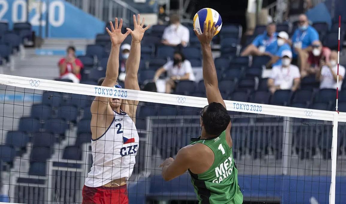 México cae ante Republica Checa en voleibol de playa