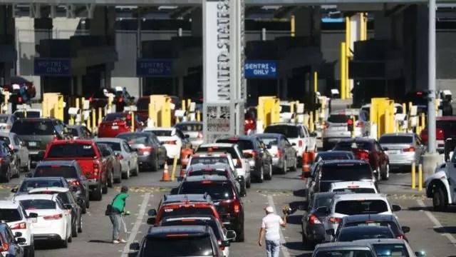 Cierre fronterizo entre México y EU benefició a mexicanos