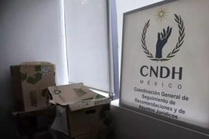 La CNDH Ajusco fue tomada esta tarde