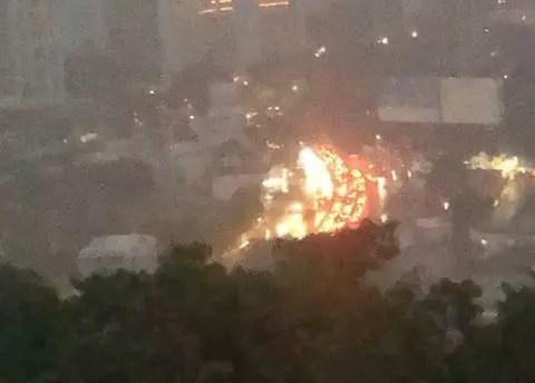 Así incendiaron el Baby'O en Acapulco
