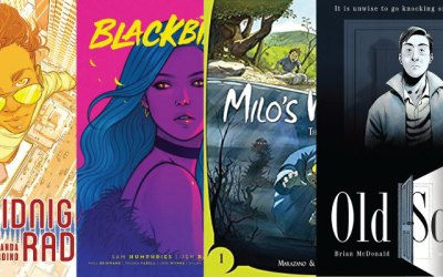 Hot Graphic Novels Roundup