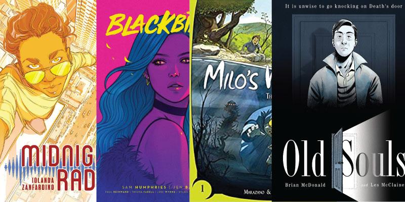 Hot Graphic Novels Roundup