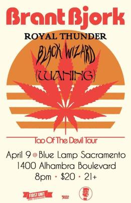 April 9th @ Blue Lamp Sacramento