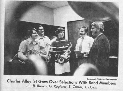 Charles Alley, Director 1971 - 1974