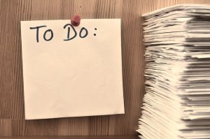 Sticky note - you can write your last-minute packing plan on it