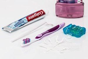 Dental hygiene kit.