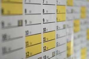 Calendar - friends helping you relocate in NYC will take much more time