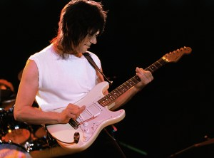 Jeff Beck - at The Backyard in Austin Texas