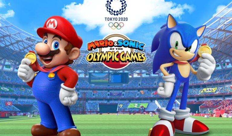 Ya hay web oficial de Mario & Sonic en los Juegos Olímpicos de Tokio 2020