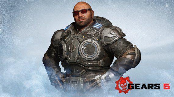 Dave Bautista estará en Gears5