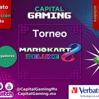 ¡Torneo de #MarioKartDeluxe en Capital Gaming!