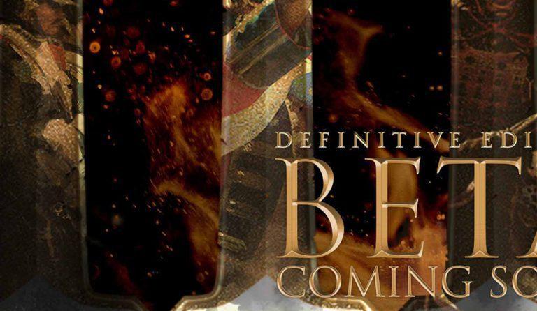 Habrá una beta cerrada de Age of Empires III: Definitive Edition
