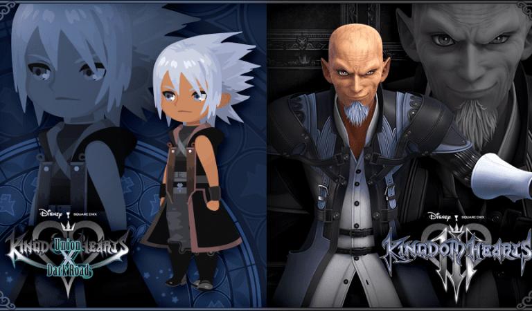Anuncian personajes nuevos para Kingdom Hearts: Dark Road