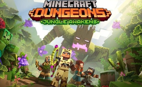 Un DLC y el crossplay llegarán a Minecraft Dungeons