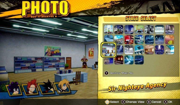 My Hero One's Justice 2 recibirá el modo foto muy pronto