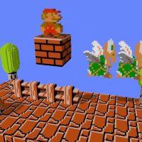 Emulador en Steam transforma juegos de NES en 3D