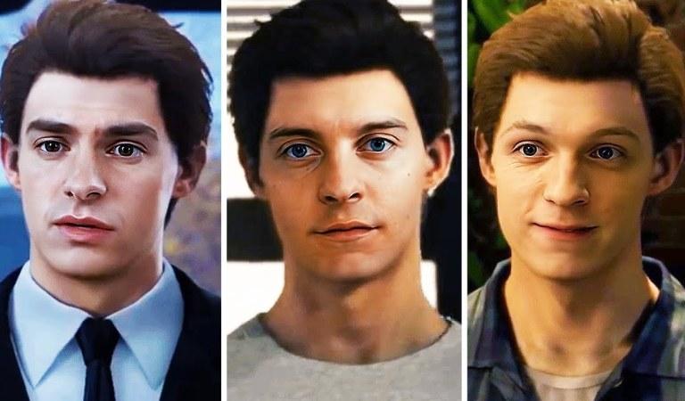 Hacen deepfake de Spider-Man PS4 con los protagonistas de las películas