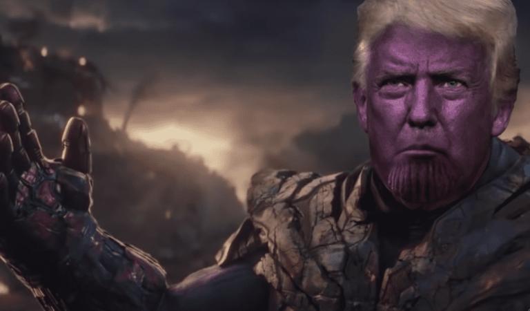 VIDEO | Checa la parodia de Endgame con Donald Trump como Thanos