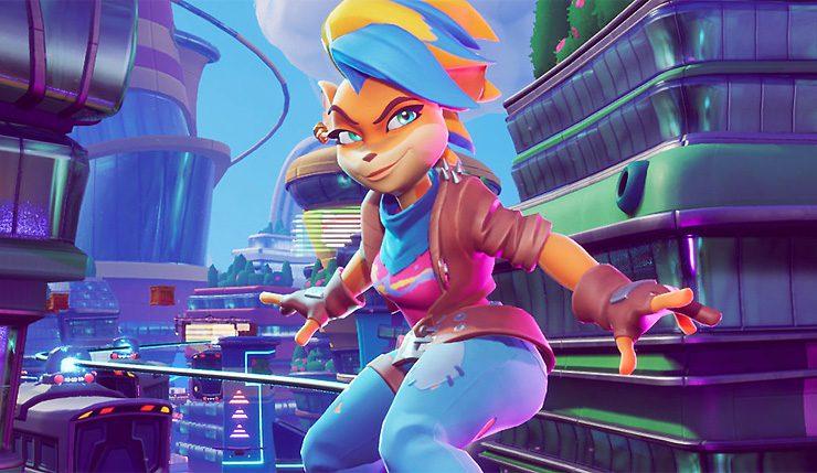 Crash Bandicoot 4 presenta un gameplay de Tawna