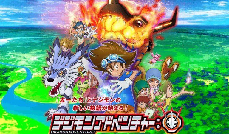 Revelan nuevo Ending para Digimon Adventure