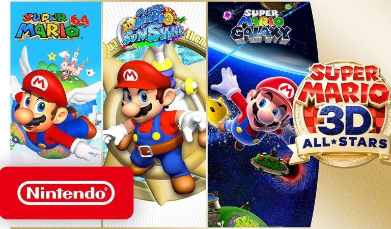 Llega una nueva actualización a Super Mario 3D All-Stars