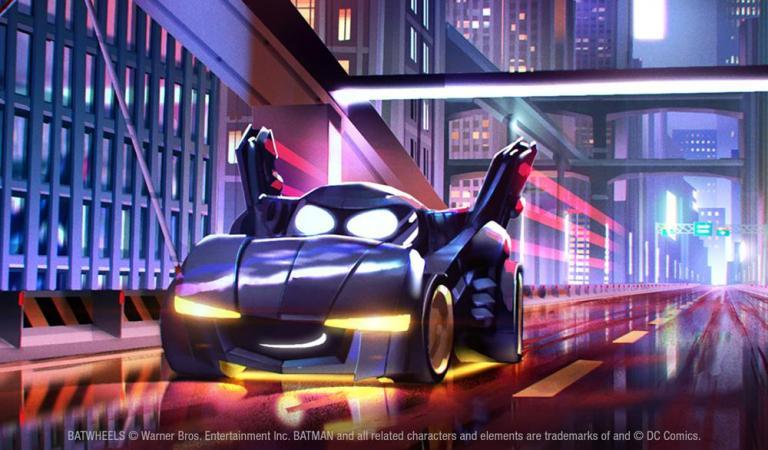 Anuncian una serie animada centrada en el Batimóvil