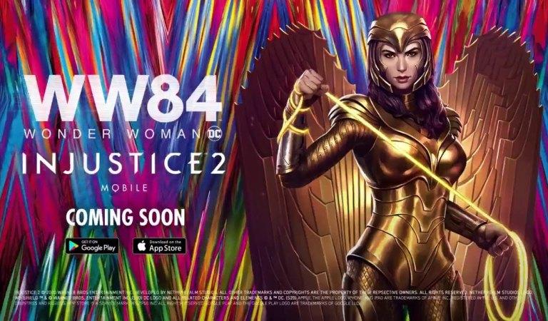 Wonder Woman 1984 llega ha Injustice 2 Mobile
