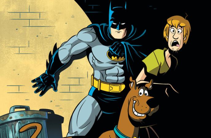 DC lanza un comic crossover de Batman con Scooby-Doo