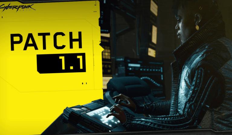 Llega la primera actualización de Cyberpunk 2077