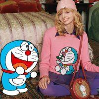 Gucci presenta su nueva colaboración con Doraemon