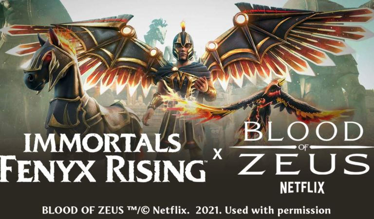 Anuncian crossover de Immortals Fenyx Rising con Blood of Zeus