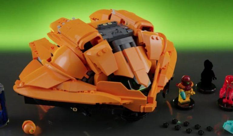 Ayuda a que el set de LEGO de Metroid sea una realidad