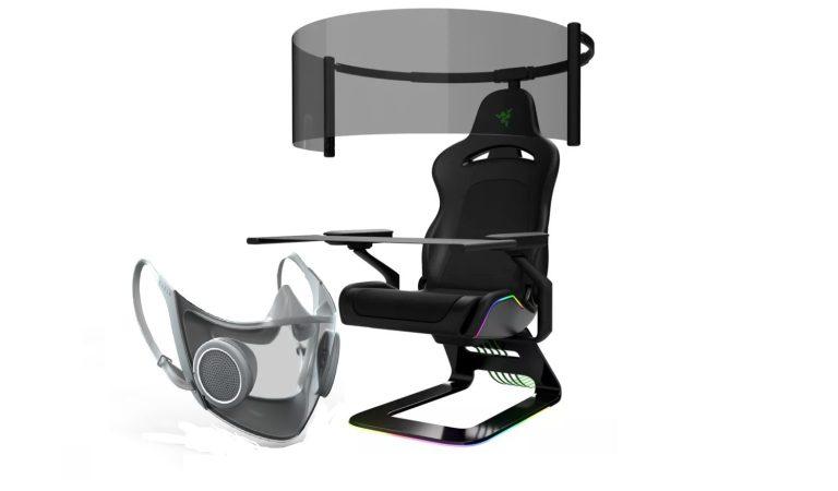 Razer revela mascaras inteligentes y sillas gamer en el CES 2021