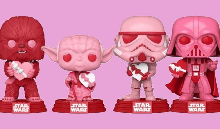Star Wars y Funko POP celebran San Valentín