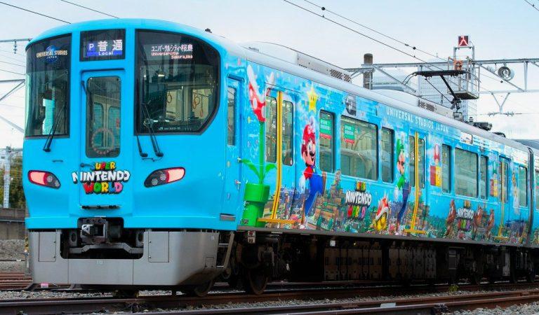 Super Nintendo World ahora tiene su propio tren en Japón