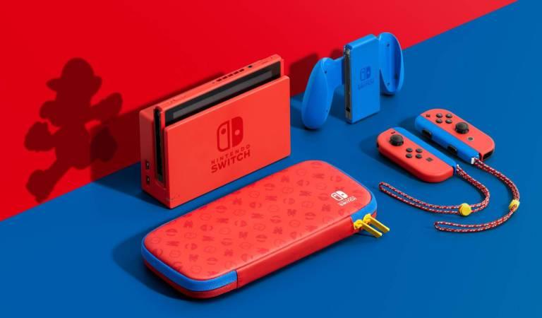 Nintendo lanzará una versión de Switch de Mario