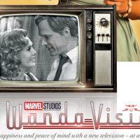 Lanzan pósters vintage de WandaVision