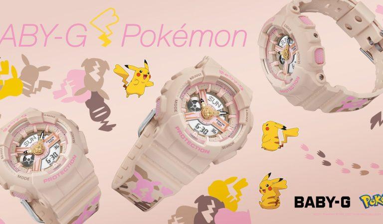 Casio se une al aniversario de Pokémon con este Baby-G de Pikachu