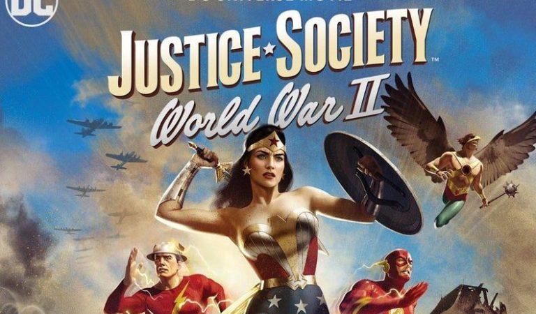 Revelan la fecha y portada de Justice Society: World War II