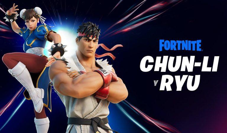 [VIDEO] Ryu y Chun-Li llegarán a Fortnite