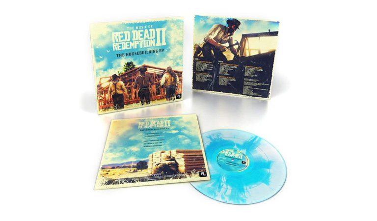 Lazan vinyl de colección con el soundtrack de Red Dead Redemption 2