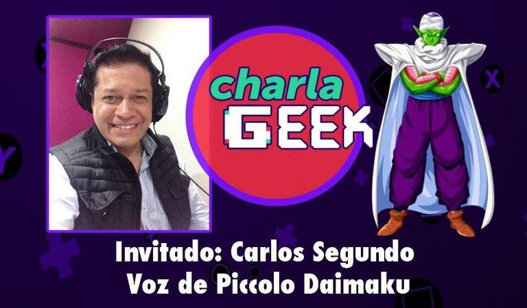 Carlos Segundo nos acompañó en Charla GEEK