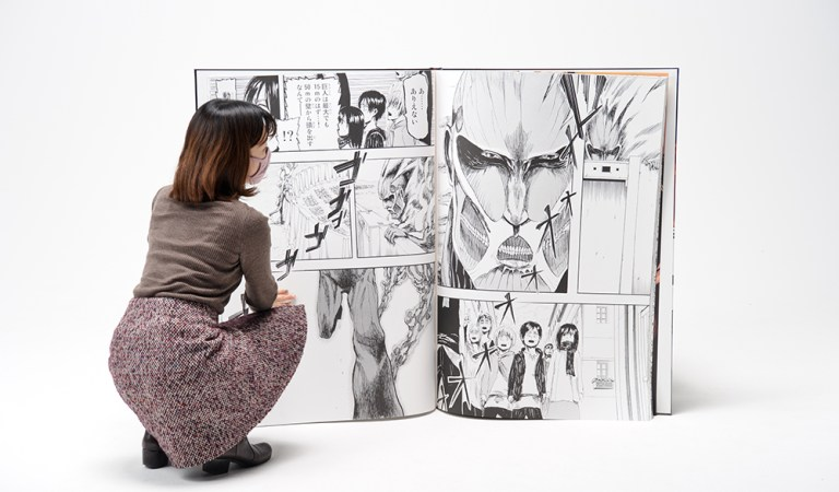 Anuncian el manga de tamaño gigante de 'Attack on Titan'