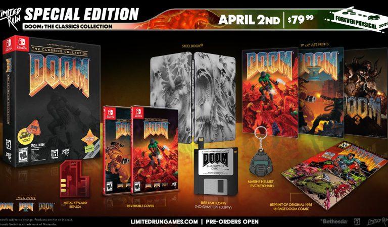 DOOM: The Classics Collection llegará para Nintendo Switch y PS4